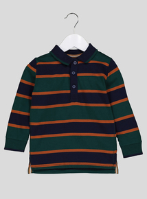 Multicoloured Striped Polo Shirt (9 Months-6 Years)