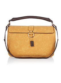 Yellow Handheld Bag