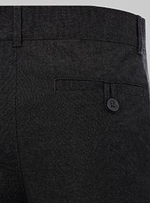 Online Exclusive Black Longer Leg Trousers 2 Pack (10-16 years)