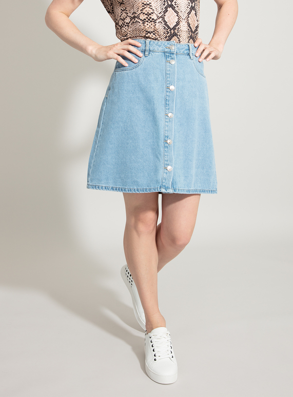 get cheap nice cheap Good Prices SKU: onlFARRAH REG DNM SKIRT BJ14427 NOOS:Denim