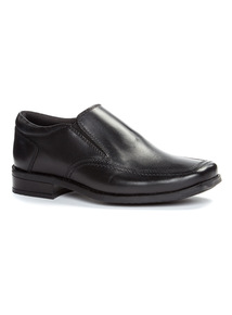 Black Formal Slip On Shoes