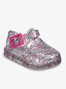 303c5d0b7 Multicoloured Glitter Baby Jelly Shoes (2 Infant - 5)
