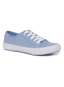 Blue Chambray Shoes