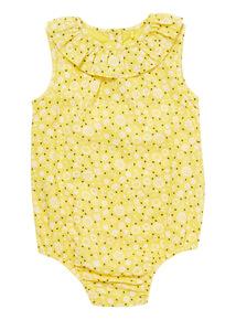 Yellow Daisy Bodysuit (0 - 24 months)