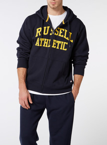 Online Exclusive Russell Athletic Navy Hoodie