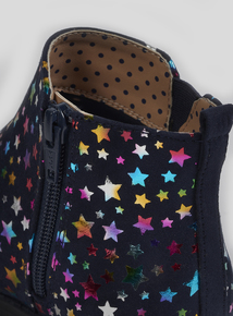 Online Exclusive Multicoloured Star Print Boots