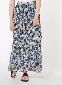 Multicoloured Maxi Skirt