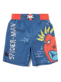 Marvel Spider-Man Multicoloured Swim Shorts (3-12 years)