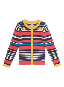Multicoloured Striped Cardigan (9 months - 6 years)