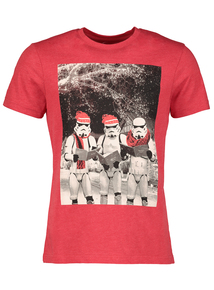 Christmas Storm Trooper Themed T-Shirt