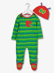 272e66c3f89 The Very Hungry Caterpillar Sleepsuit   Hat Set (0-24 Months)