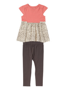 Girls Pink Mini Nomad Value Jersey Set (9 months- 6 years)