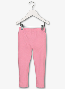 Pink Marl Leggings (5-14 Years)