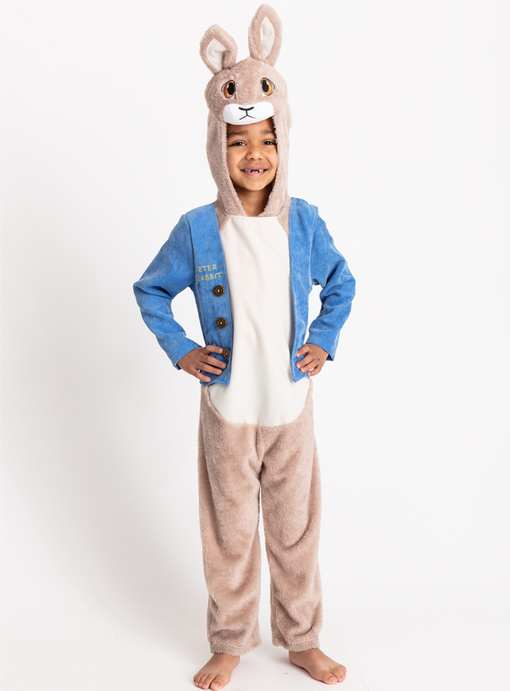 6096d933ed1 Fancy Dress Blue Peter Rabbit All In One Costume (3-8 years)