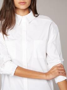 Premium White Poplin Shirt