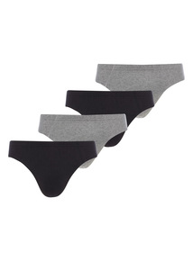 Black and Grey Slips 4 Pack