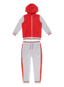 Multicoloured Zipped Top And Jogger Set (9 months-6 years)