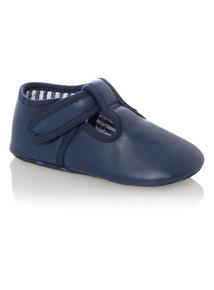 Boys Blue Occasion Shoes (0 - 18 months)
