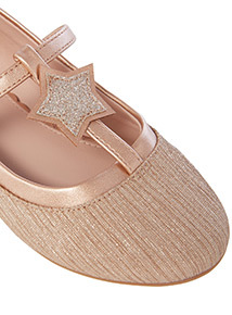 Star Ballerina Shoes (4 Infant - 4)