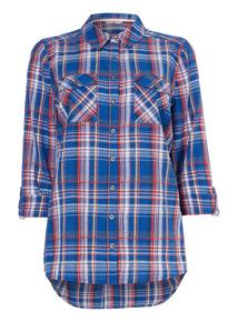 Multicoloured Checked Shirt