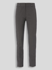 Grey Longer Leg Trousers (10-16 years)