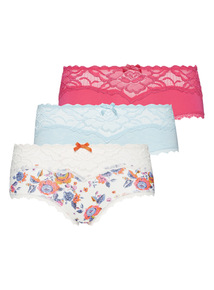 Lace Shorts 3 Pack