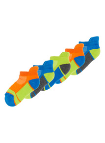 Multicoloured Active Trainer Socks 5 Pack