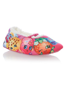 Pink Shopkins Slippers