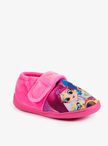 Online Exclusive Pink Shimmer & Shine Slippers (Infant 5-12)