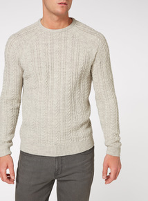 Oatmeal Cable Jumper