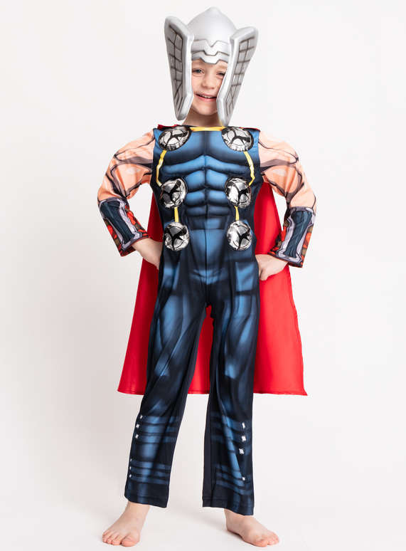 aeb559e1afd Fancy Dress Marvel Avengers Thor Dress Up Costume (3-10 years)