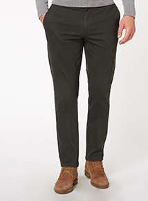 Forest Green Slim Chino Trouser