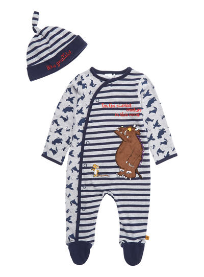 30a82dc03263 Baby Boys Blue Gruffalo All In One (0-24 months)
