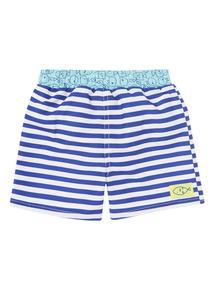Blue Seaside Trunks (0 - 3 years)