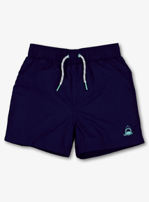 Navy Woven Swimming Shorts (1-14 years)