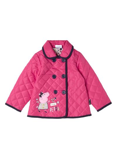 Kids Girls Pink Peppa Pig Jacket (9 months - 5 years)   Tu clothing