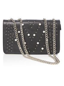 Studded Pearl Party Bag