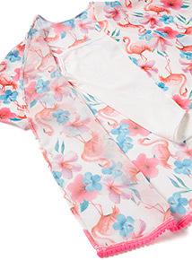 Multicoloured Vest and Kimono Set (3-14 years)