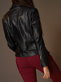 Premium Black Leather Jacket