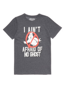 Grey Ghostbuster T Shirt (3 -14 years)