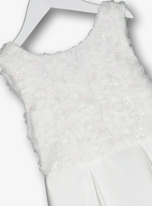 Ivory Bridesmaid Occasion Dress (3 - 12 Years)
