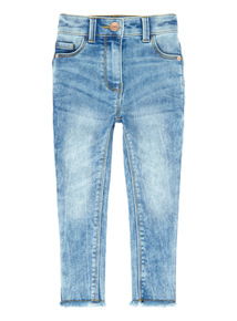 Blue Acid Wash Jeans (3-14 years)
