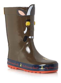 Boys Brown Gruffalo Wellies