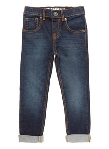 Blue Dark Wash Skinny Denim Jeans (9 Months - 6 Years)