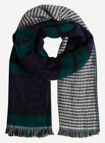 Multicoloured Reversible Scarf