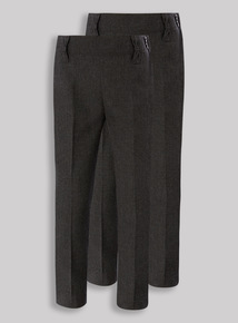 2 Pack Grey Skinny Fit Trousers