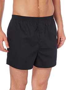 Grey Woven Boxers 3 Pack