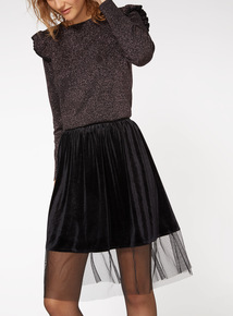 Frill Shoulder Jumper