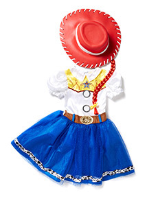 Multicoloured Disney Jessie Toy Story Costume (2-10 years)