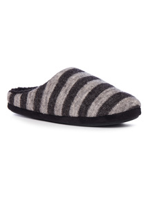 Stripe Mule Slipper
